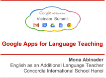 Google Apps in Language Teaching