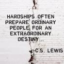 harships